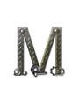 Alphabet Metal Shop M