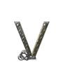 Alphabet Metal Shop V