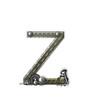 Alphabet Metal Shop Z