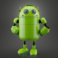 Standing android