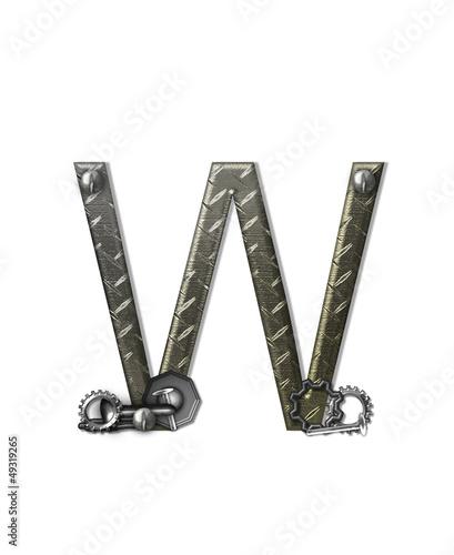 Alphabet Metal Shop W