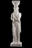 Caryatid of Erechtheion - Acropolis. poster