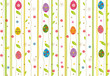 Easter seamless pattern.
