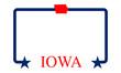 Iowa frame