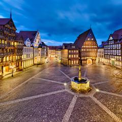 Historische Altstadt von Hildesheim, Deutschland