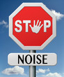 stop noise