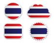 Fahne Thailand Sticker