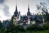 The Peles Castle, a Neo-Renaissance castle in Romania poster