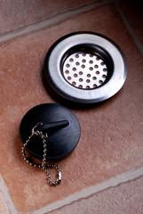 tappo lavello con filtro in acciaio