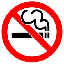 """Постер, картина, фотообои """"No Smoking"""""""