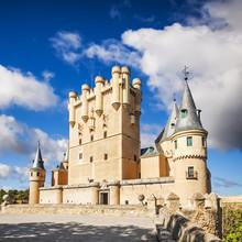 Le célèbre Alcazar de Ségovie, Castille et Leon, Espagne