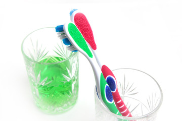 toothbrush for hygiene cavity mouth and cleaning teeths