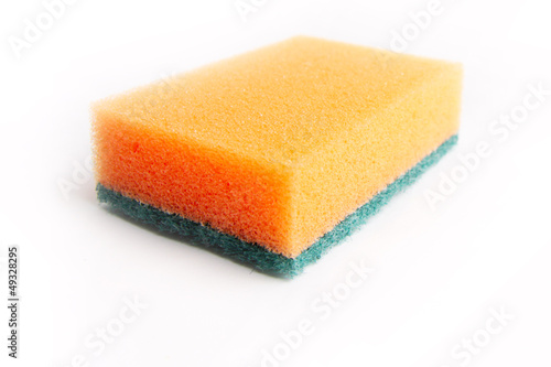 cleaning sponge for economic work and washer dishes