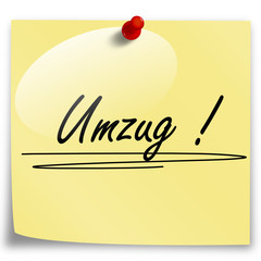 Post-It Umzug!