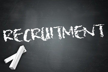 "Blackboard ""Recruitment"""