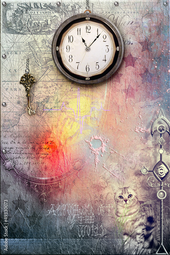 Foto op Plexiglas Draken Passage of time