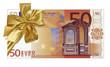 billet cadeau de 50 euros