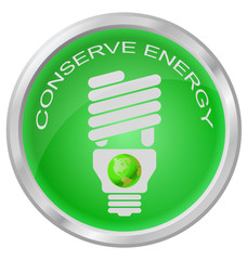 Conserve Energy light bulb button