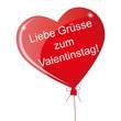 Liebe Grüsse zum Valentinstag