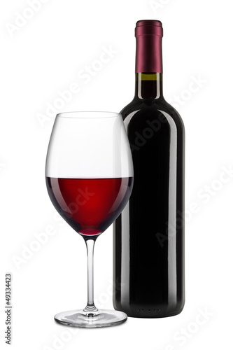 canvas print picture red wine