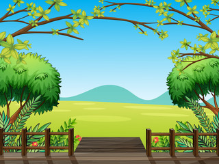 Natural view of nature