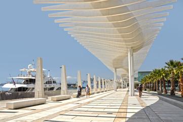 Málaga, Paseo del Puerto, Andalucía
