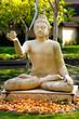 Buddha im Lotussitz / Indien