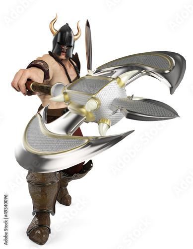 barbarian front atack