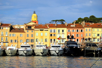 Saint Tropez - port and yachts