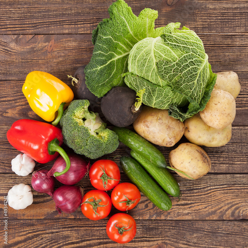 Vegetables assortment
