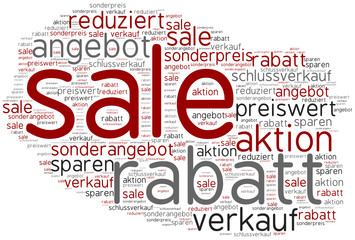 tag cloud sale