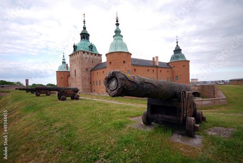 Leinwandbild Motiv Schloss von Kalmar (Schweden)