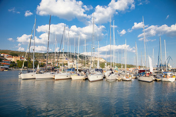 Yacht Club in  Balchik , Bulgaria.