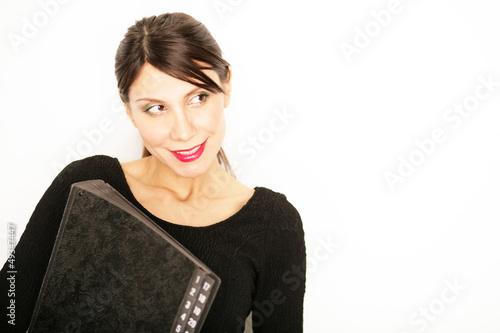 attraktive Geschäftsfrau