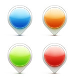 Location pointer icons