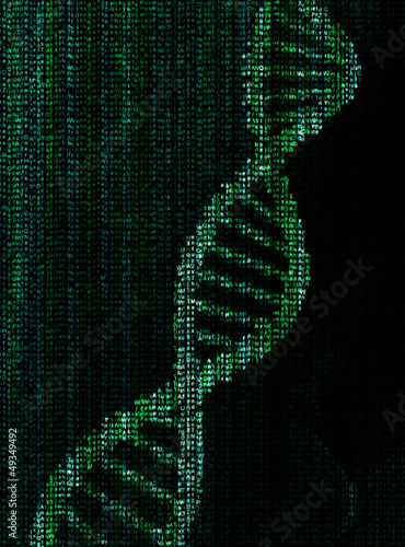 encrypted dna molecule