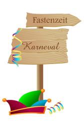 Karneval - Fastenzeit