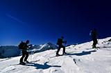 Fototapeta śnieg - męstwo - Sporty Zimowe