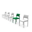 stuhl, stühle, platz, grün, sitzplatz, warten,