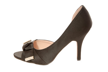 Black evening shoe