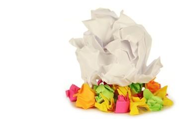 Paper Wads 5