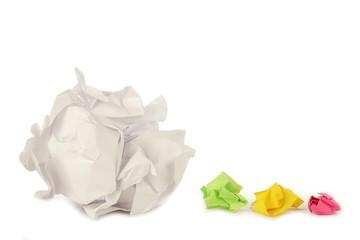 Paper Wads 1