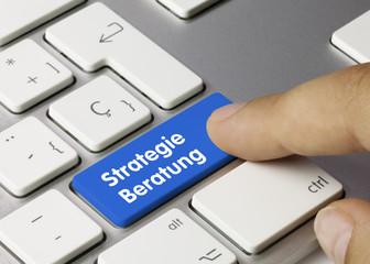 Strategie Beratung Tastatur Finger