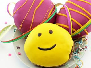 Pfannkuchen zu Karneval