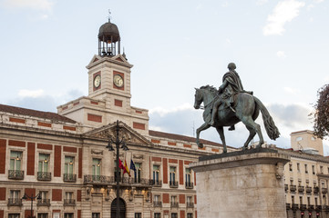 """Puerta del Sol"" square, Madrid, Spain"