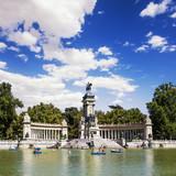 Fototapety Parque del Retiro, Madrid.