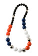 Spheric beads necklace