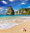 Fototapete Philippinen - Sand - Meer / Ozean