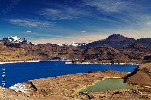 Sarmiento lake, Torres del Paine National Park, Patagonia, Chile
