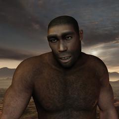 Frühmensch Homo erectus